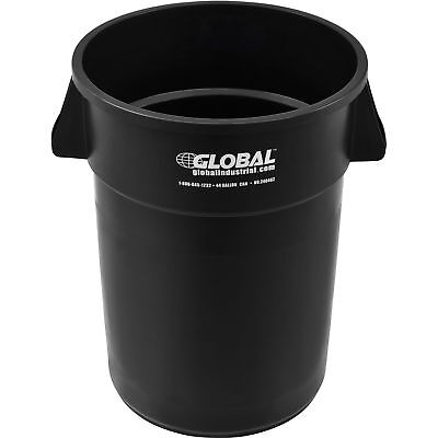 44 Gallon Garbage Can, Black, Lot of 1