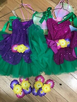 Dance costume -butterfly-Purple and Pink- Used