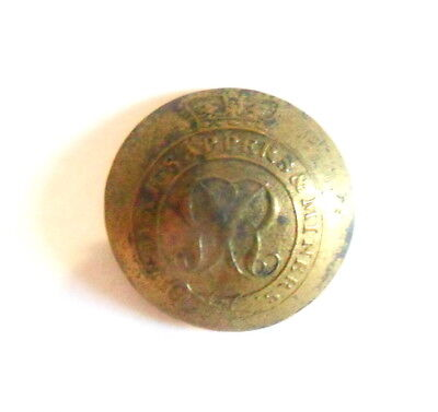 Royal Sappers & Miners Other Ranks Coatee Button.