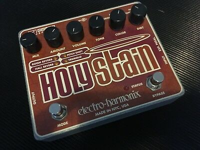 Electro Harmonix - Holy Stain / Bodentreter FX Reverb, Tremolo, Fuzz, Pitch Shif