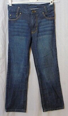 Boys Cherokee Blue Whiskered Relaxed Fit Denim Jeans Age 9-10 Years