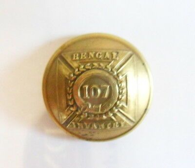 107th Bengal Infantry Other Ranks Tunic Button.