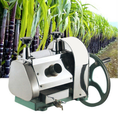 34kg Sugar Cane Juicer Sugarcane Juice Extractor Squeezer Hand Press Machine DHL