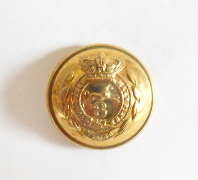 8th (The King's) Regt Officer's Tunic Button.