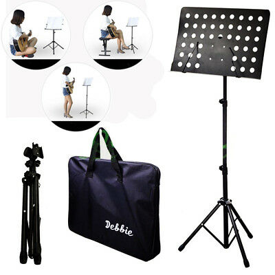 Flanger Orchestral Conductor Music Stand Holder Tripod Base Foldable Bag Free