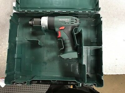 Metabo Sb18Li 18V Combi Drill Body Only In Carry Case