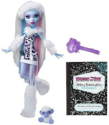 Monster High - Abbey Bominable & Shiver X4627 NEU & OVP