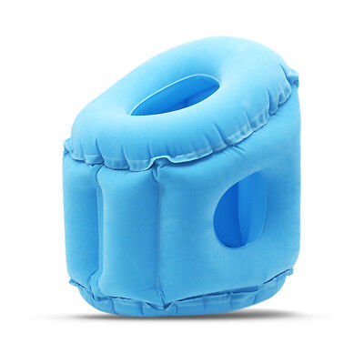 Travel Pillow Inflatable Pillows Air Soft Cushion Trip Portable Innovative V7Z5