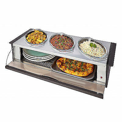 Hostess Steel Buffet Server-Silver HO392SV