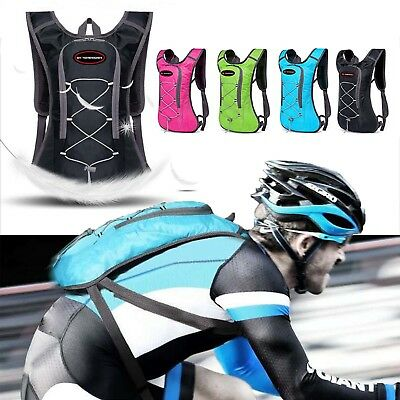Sport Vest Hydration Backpack With 2L Water Bladder Bag Camping Hiking Running