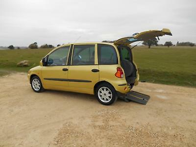 2004 Fiat Multipla Up Front 5 Door 3 Seat Wheelchair Accessible Disabled Car