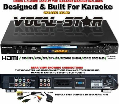Vocal Star VS-800 Karaoke Recording Player
