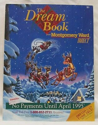 1994 Montgomery Ward Christmas Catalog, The Dream Book