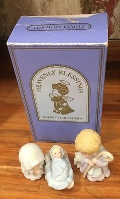 AVON 1986 HOLY FAMILY Figurine from  Heavenly Blessings Nativity Collection