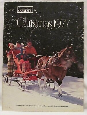 1977 Montgomery Ward Christmas Catalog