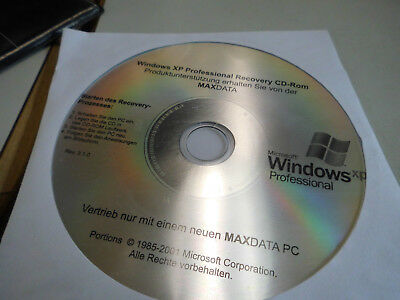 Windows XP Professional Recovery CD-Rom