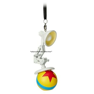 Disney Parks Luxo Jr. Lamp with Ball Ornament (NEW)