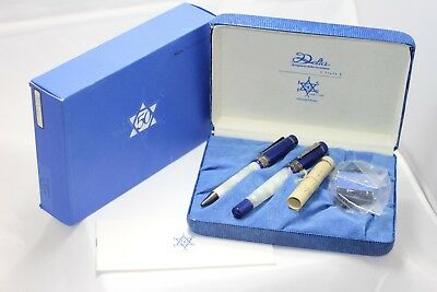 Delta Israel 50th Anniversary Fountain Pen & Ballpoint Pen Set NEW LE  Year 1998