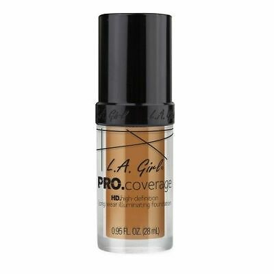 L.A. Girl Pro Coverage High Definition Illuminating Foundation Makeup Bronze
