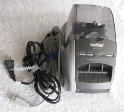 Brother QL-570 Professional High Resolution Thermal Label Printer w/Power Cord