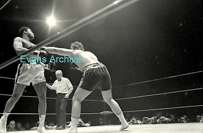 1970s Muhammad Ali v Jerry Quarry Boxing Original Photo Negative Strip (6 negs)