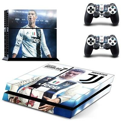 Video Game Accessories Faceplates, Decals & Stickers Juventus Cristiano Ronaldo Sticker Xbox One For Console And 2 Controllers