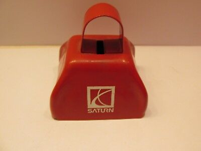 Saturn Red Cow Bell