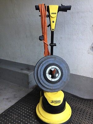 karcher floor scrubber cleaner buffer polisher