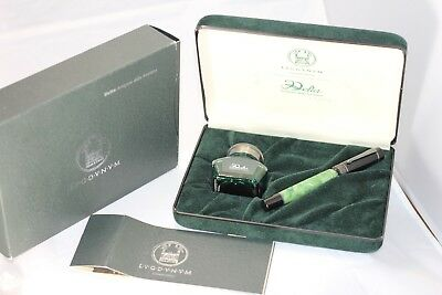 Delta Lugdunum Green Sterling Limited Edition Fountain Pen New Year 1998