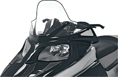 Powermadd 12930 Windshield 16.5in. Clear/Black Graphics