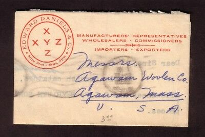 SMALL 1950s COVER SYRIA TO USA...INTERESTING...