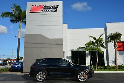 2016 Cayenne Turbo 2016 CAYENNE TURBO - LOADED WITH OPTIONS - FACTORY WARRANTY