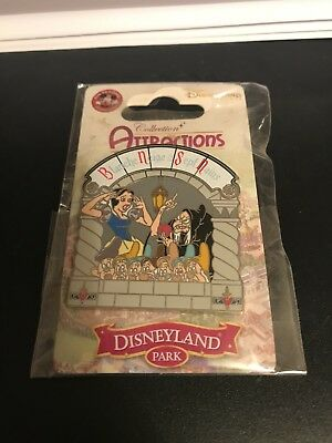 Very Rare Snow White Disney Attractions Collections Pin. Disney Parks 2014