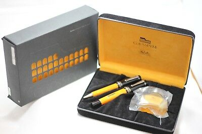 Delta Colosseum Fountain Pen Ballpoint Pen Set Limited Edition NEW Year 1996