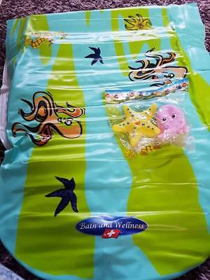 Bath And Wellness Bath Comfort Waterbed and Bath Pillow Safety For Baby Bathing