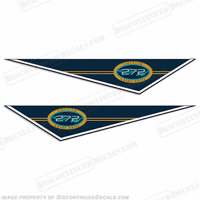 Grady White Sailfish 272 Pendant Decals - Discontinued Decal Reproductions!
