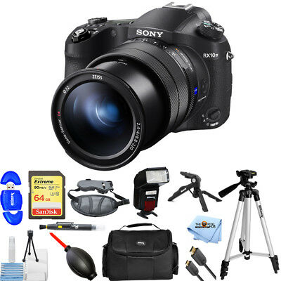 Sony Cyber-shot DSC-RX10 IV Digital Camera PRO BUNDLE BRAND NEW