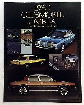 Car Auto Brochure 1980 Oldsmobile Omega 8 Pages