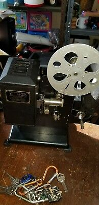 Antique Kodascope Eight Model 40 Projector With Box Works
