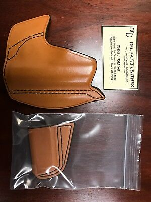 Del Fatti PH-3 For Seecamp Right Hand Holster Brown Cowhide