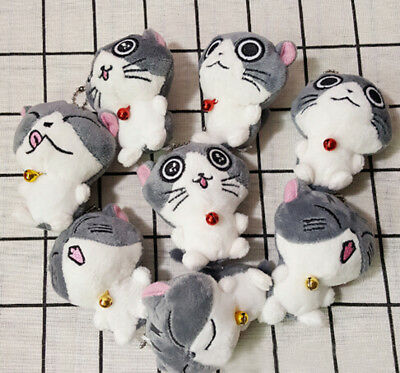 Lovely Cat Collection Mini Plush Stuffed Dolls Cute Small Pendant Toys Gift Pop—