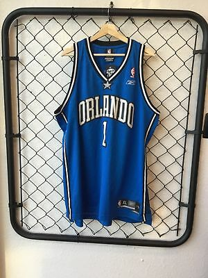 new product d1ca2 2197d NBA REEBOK ORLANDO Magic Tracy McGrady Jersey- XL