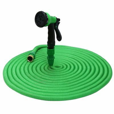 Expandable Flexible Garden Water Magic Hose Pipe with 8 Modes Spray Nozzle Gun