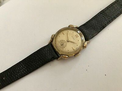 Vintage Rare Art Deco  Post Hand Wind Unisex Watch Fancy Lugs Swiss