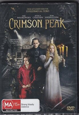 Crimson Peak - DVD (Brand New Sealed) Regions 2,4 & 5 PAL