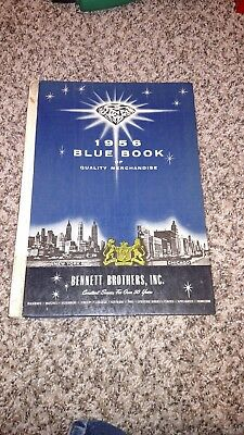 *SCARCE 1956 Vintage ORIGINAL BLUE BOOK of Quality Merchandise BENNETT BROTHERS