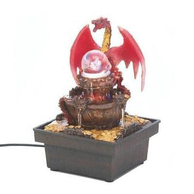 Red Dragon Tabletop Water Fountain (pack of 1 EA)