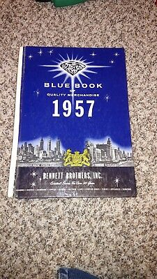 *SCARCE 1957 Vintage ORIGINAL BLUE BOOK of Quality Merchandise BENNETT BROTHERS