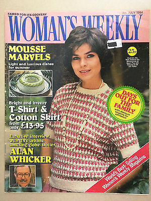 Woman's Weekly 7th July 1984 Vintage / Retro