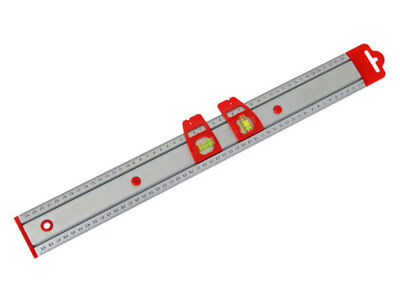 Neilsen Rule With Spirit Level 500mm CT1986